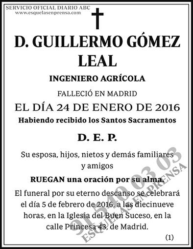Guillermo Gómez Leal